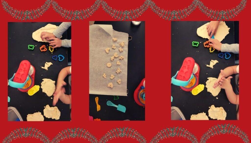 φτιάχνουμε Χριστουγεννιάτικα στολίδια αλατοζύμης, Παραμυθόσπιτο